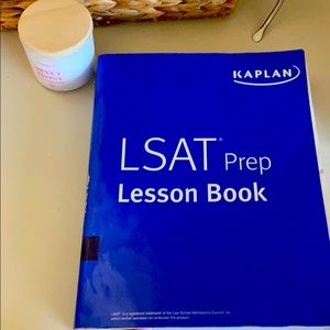 Used LSAT KAPLAN PREP LESSON BOOK
